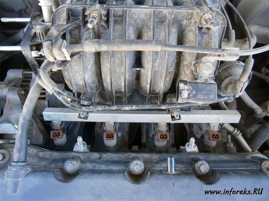 Чистка дроссельного узла и форсунок Chevrolet Lacetti 27