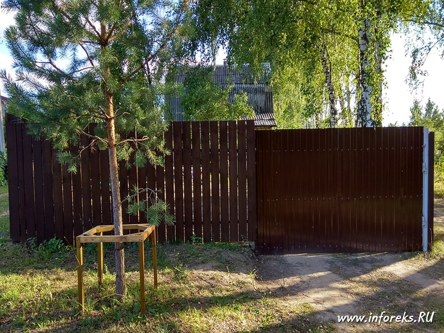 Рецепт Шведской краски для деревянных заборов 6