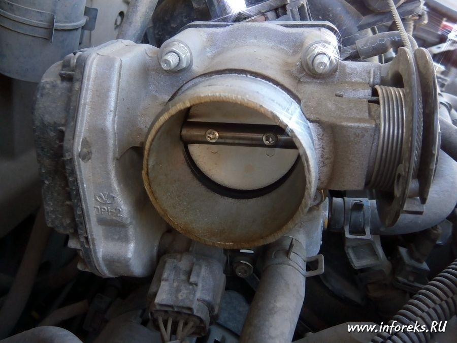 Чистка дроссельного узла и форсунок Chevrolet Lacetti 7