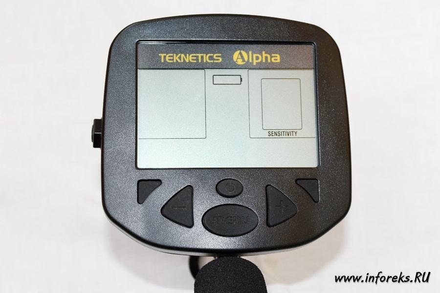 Металлоискатель Teknetics Alpha 2000 13