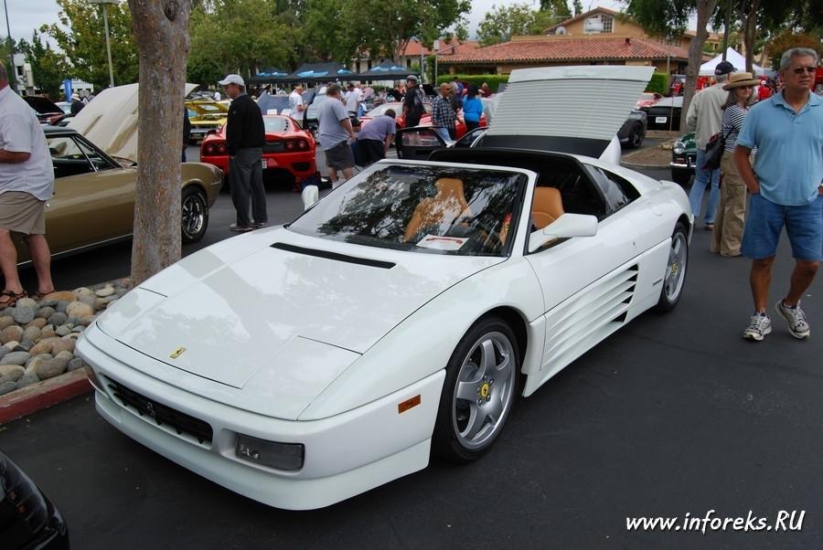 Выставка автомобилей в городе Кэмпбелл, США 15
