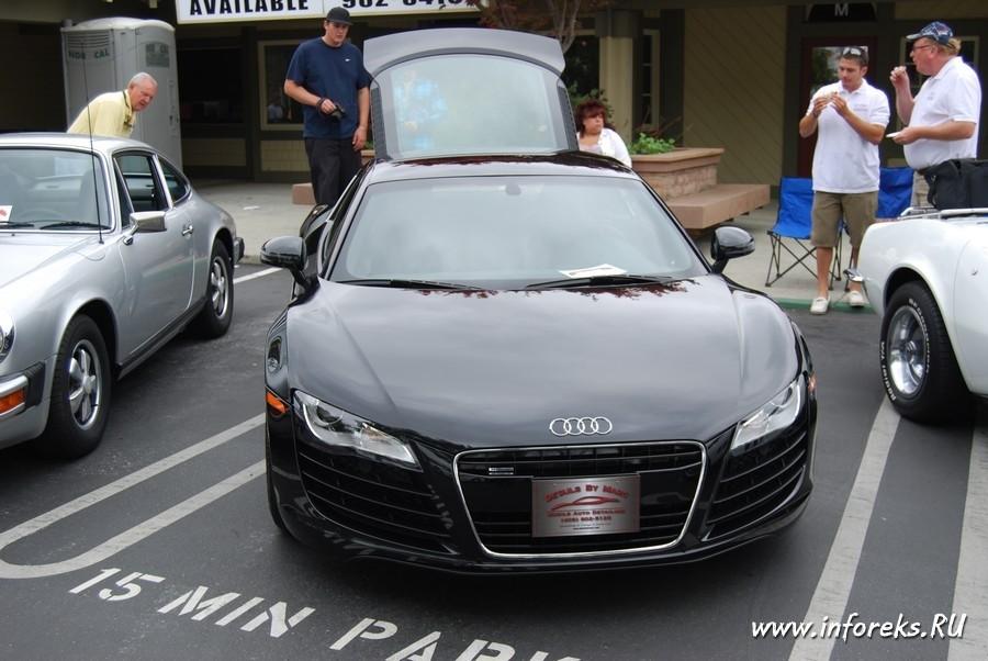 Выставка автомобилей в городе Кэмпбелл, США 59