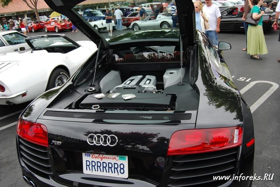 Выставка автомобилей в городе Кэмпбелл, США 57