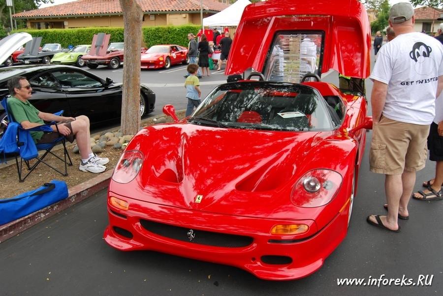 Выставка автомобилей в городе Кэмпбелл, США 51
