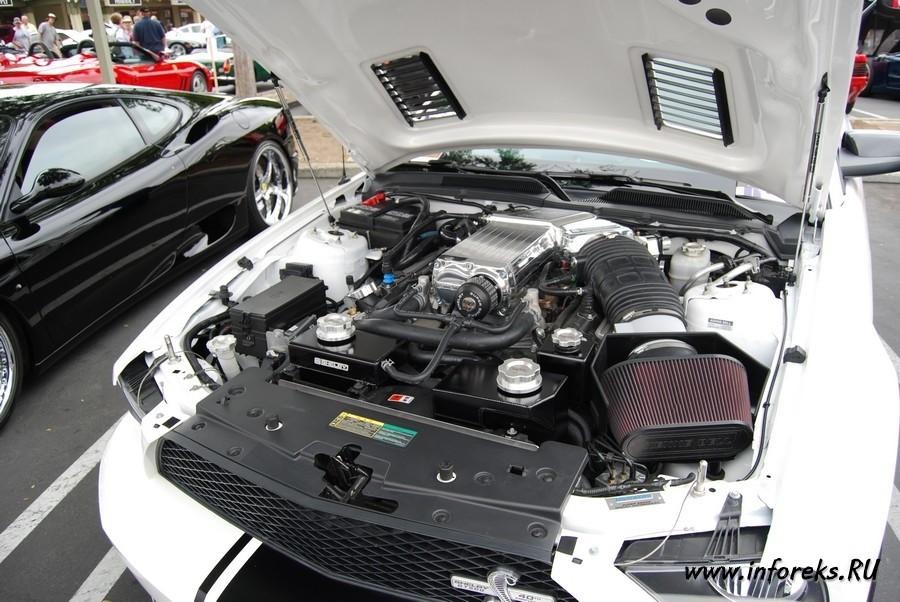 Выставка автомобилей в городе Кэмпбелл, США 47