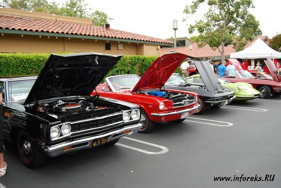 Выставка автомобилей в городе Кэмпбелл, США 39