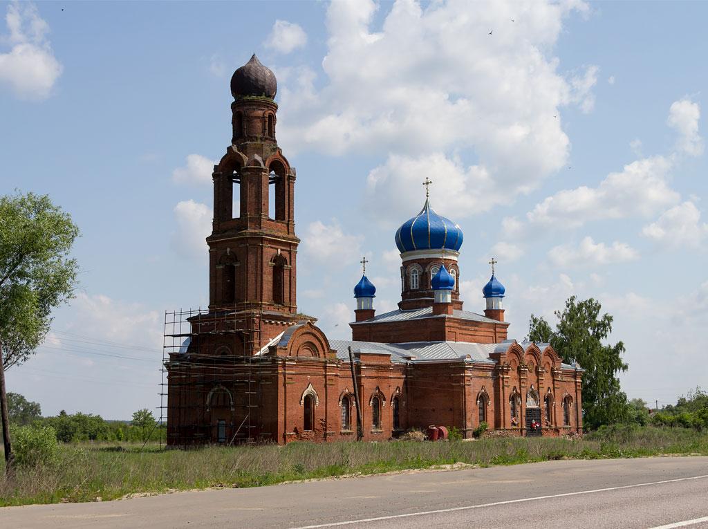 Старинные церкви Рязанской области 3