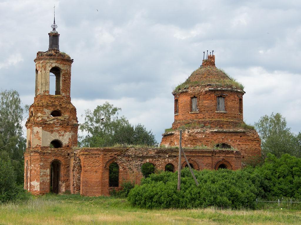 Старинные церкви Рязанской области 13