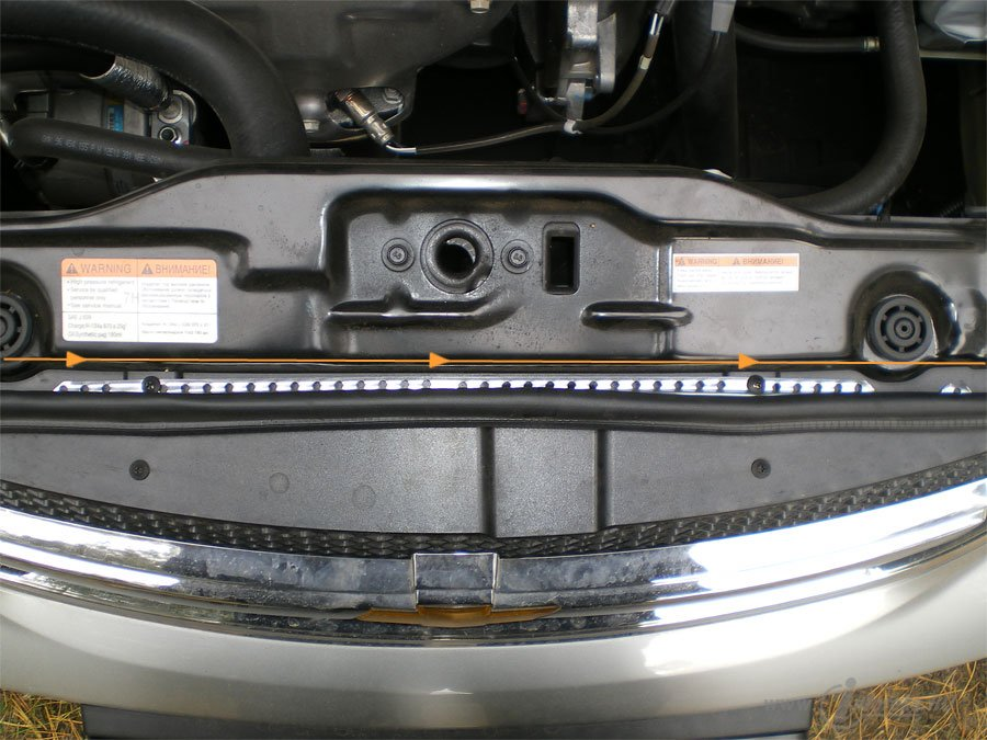 Защита подкапотного пространства Chevrolet Lacetti 9