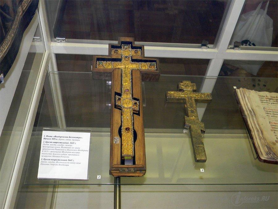 Фотографии музейных экспонатов Рязанского Кремля 61