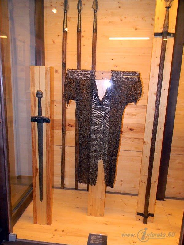 Фотографии музейных экспонатов Рязанского Кремля 79