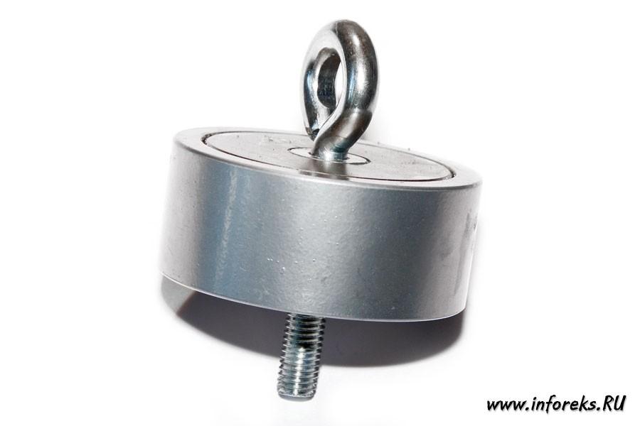 Двухсторонний поисковый магнит 200 кг 19