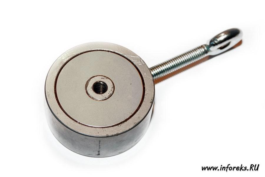Двухсторонний поисковый магнит 200 кг 21