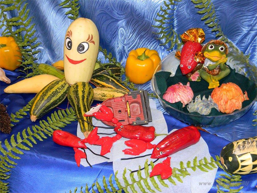 Вот что можно сделать из овощей и фруктов 23