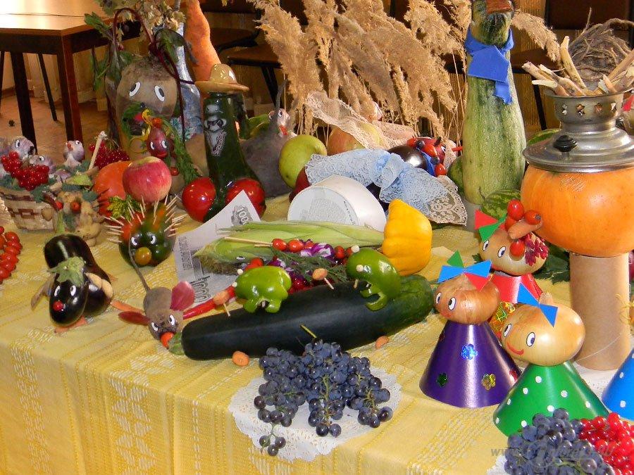 Вот что можно сделать из овощей и фруктов 33