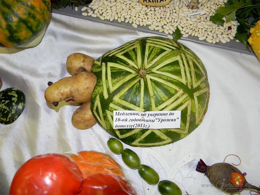 Вот что можно сделать из овощей и фруктов 7