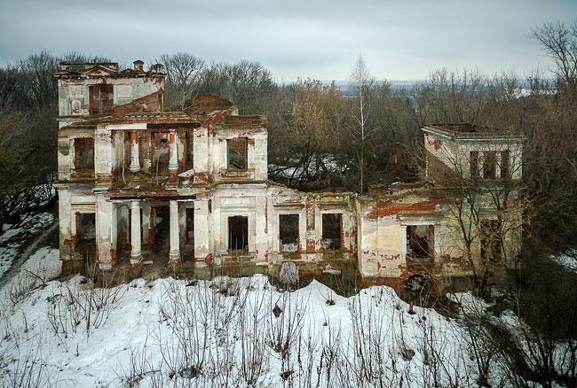 Усадьба Никитинских в селе Костино
