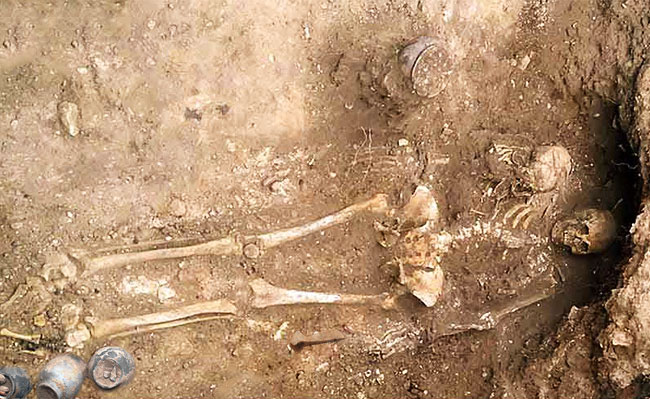 Клады Борковского могильника 3