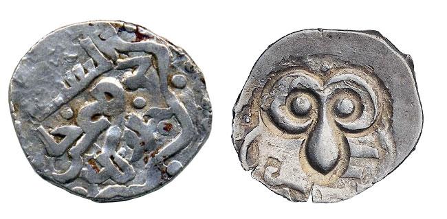 Рязанское подражание монете Тохтамыша