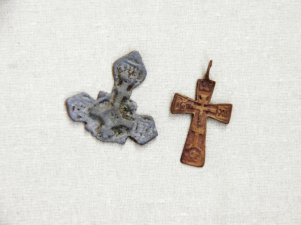 Староверские нательные кресты