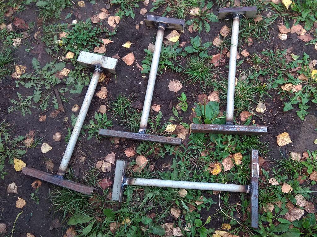 Как выровнять провисший деревянный забор. 3