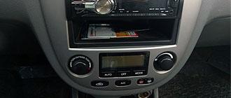 Как снять накладку с центральной консоли Chevrolet Lacetti SW 10