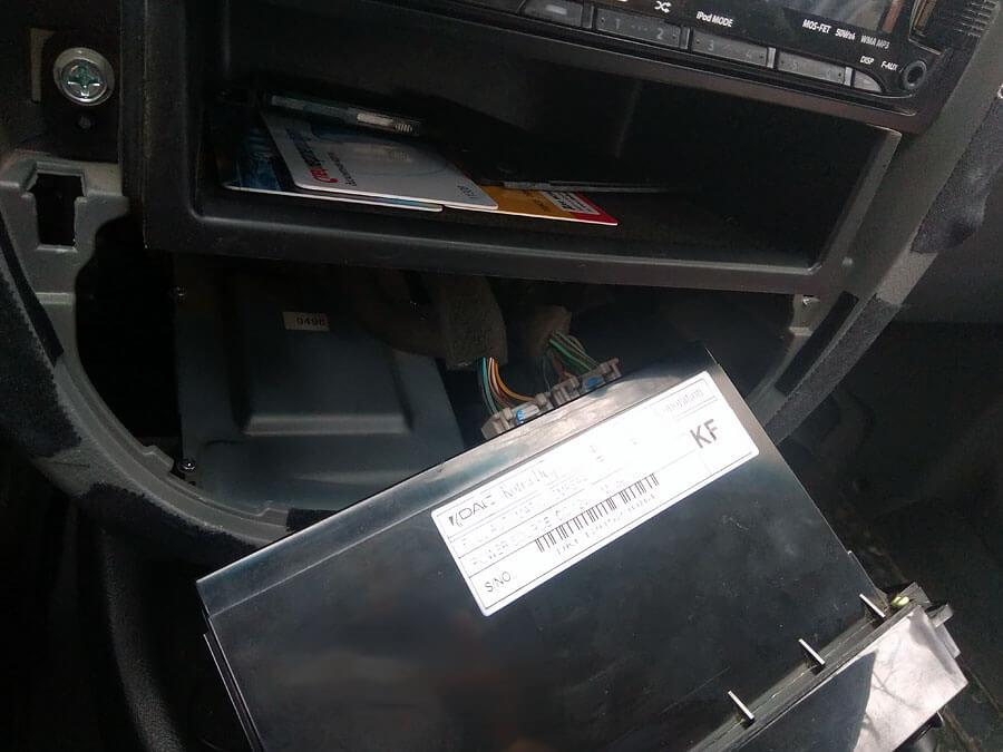 Блок управления климат-контролем Chevrolet Lacetti SW